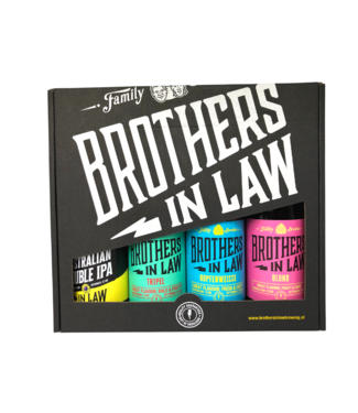 Brothers In Law Brothers In Law Cadeauverpakking 4- pack