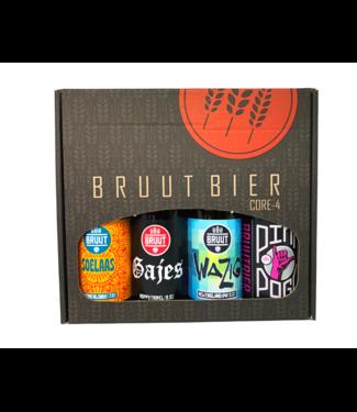 Bruut Bruut Cadeauverpakking 4-pack