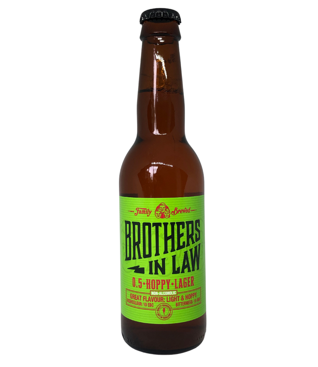 Brothers In Law 0,5% Hoppy Lager