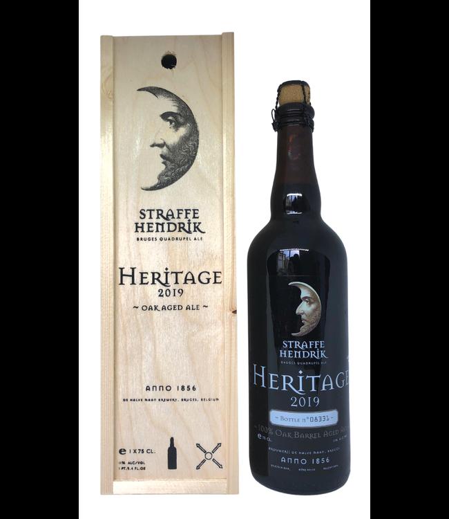 Brouwerij De Halve Maan Straffe Hendrik Heritage 2019 Giftdoos