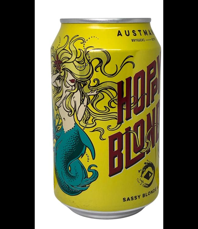 Austmann Austmann Hoppy Blonde Blik 330ml
