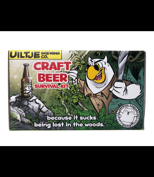 Het Uiltje Uiltje Craft Beer Survivalkit Cadeauverpakking 6- Pack Can