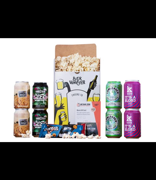 Bierwinkelier Movieproeverij voor 2 met MeJane Moviepoints