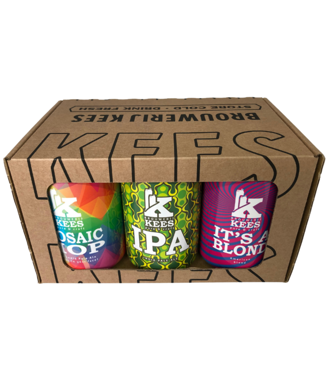 Kees Cadeauverpakking 6-Pack Can