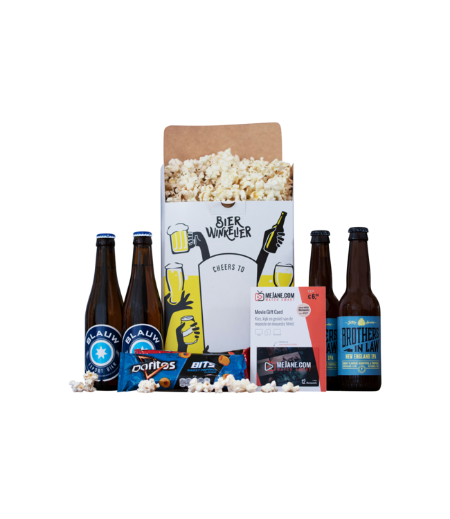 Bierwinkelier Moviepakket met MeJane Moviepoints