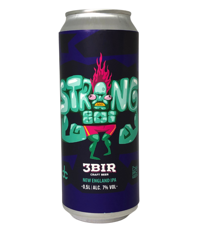3Bir Craft Beer 3Bir Strongboy 500ml