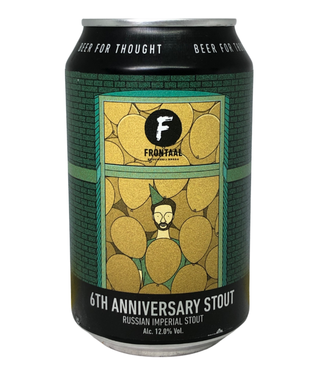 Frontaal Frontaal 6th Anniversary Stout 330ml