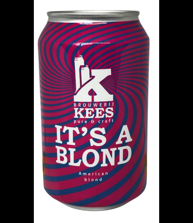 Brouwerij Kees It's A Blond Blik