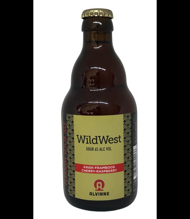 Alvinne Wild West Kriek Framboos 330ml
