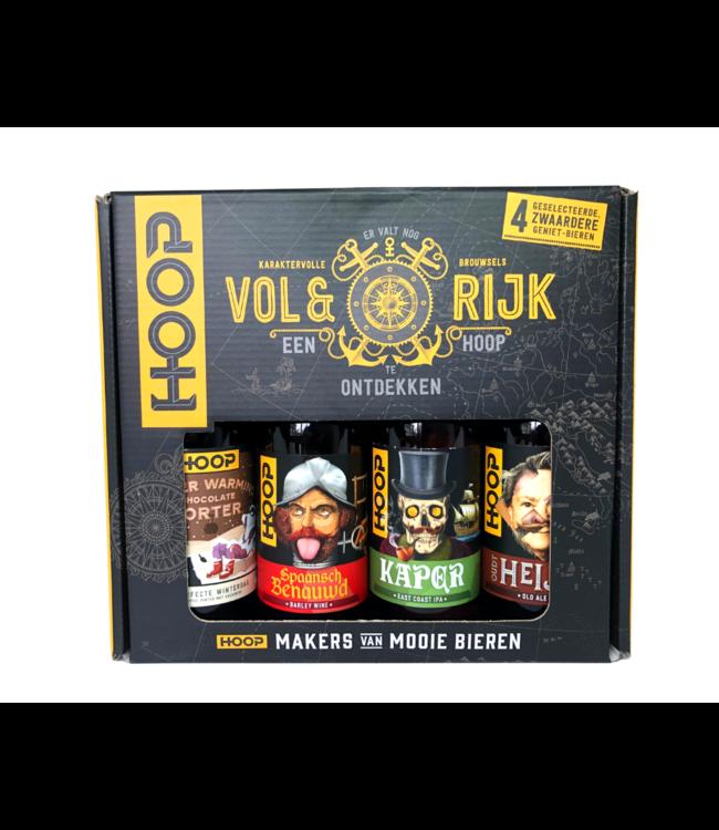 Brouwerij Hoop Brouwerij Hoop Vol En Rijk Geschenkverpakking 4x33cl
