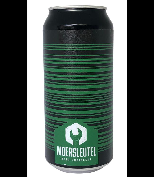 De Moersleutel Moersleutel Barcode Green/Black 440ml
