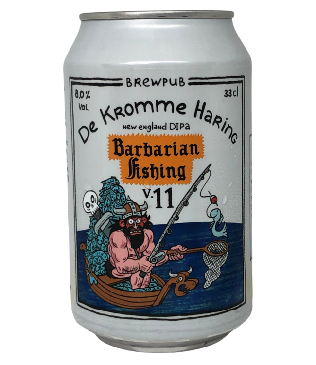 De Kromme Haring Barbarian Fishing V11 330ml