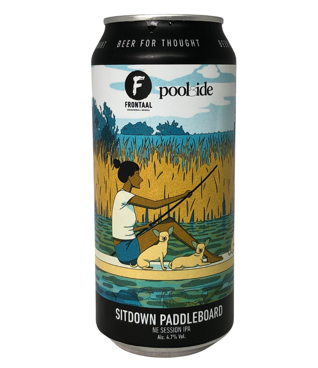 Frontaal Frontaal Sitdown Paddleboard 440ml