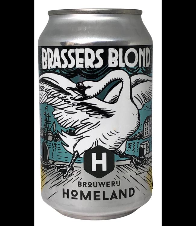 Brouwerij Homeland Homeland Brassers Blond 330ml