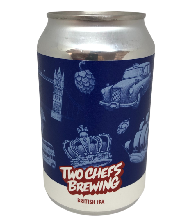 Two Chefs Brewing Two Chefs Brewing British IPA 330ml