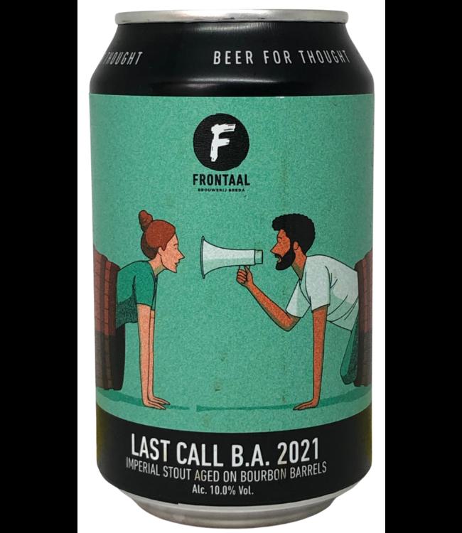 Frontaal Frontaal Last Call BA 330ml