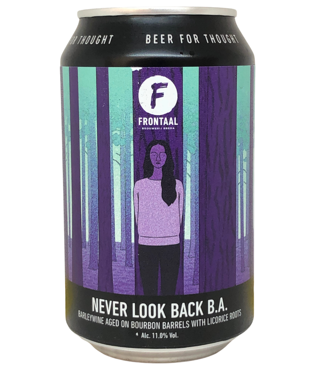 Frontaal Frontaal  Never Look Back 330ml