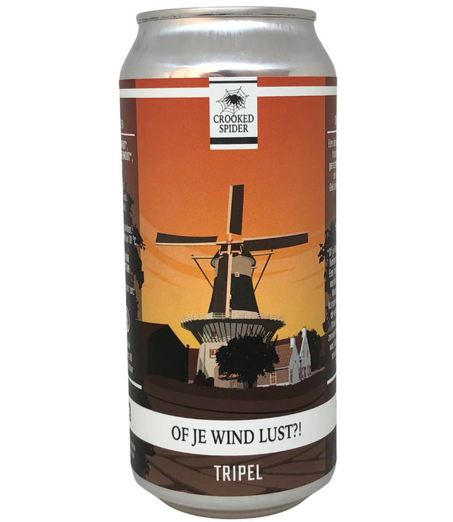 Crooked Spider Crooked Spider Of je Wind Lust 440ml