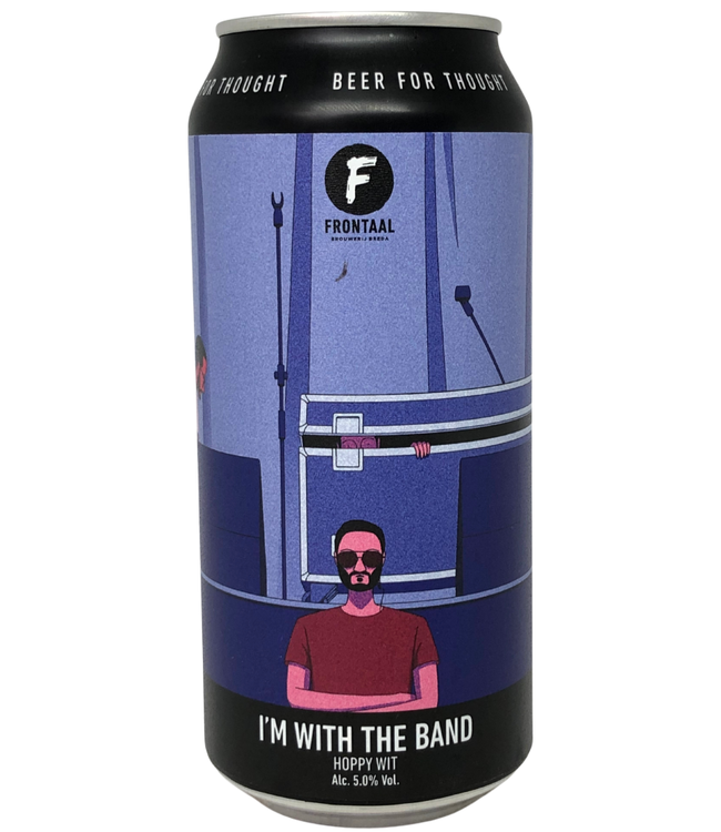 Frontaal I'm With The Band 440ml