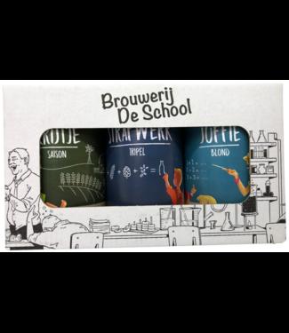 Brouwerij de School Brouwerij De School Geschenkverpakking 6x330ml