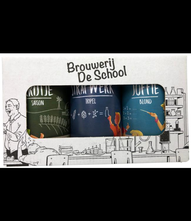 Brouwerij De School Geschenkverpakking 6x330ml