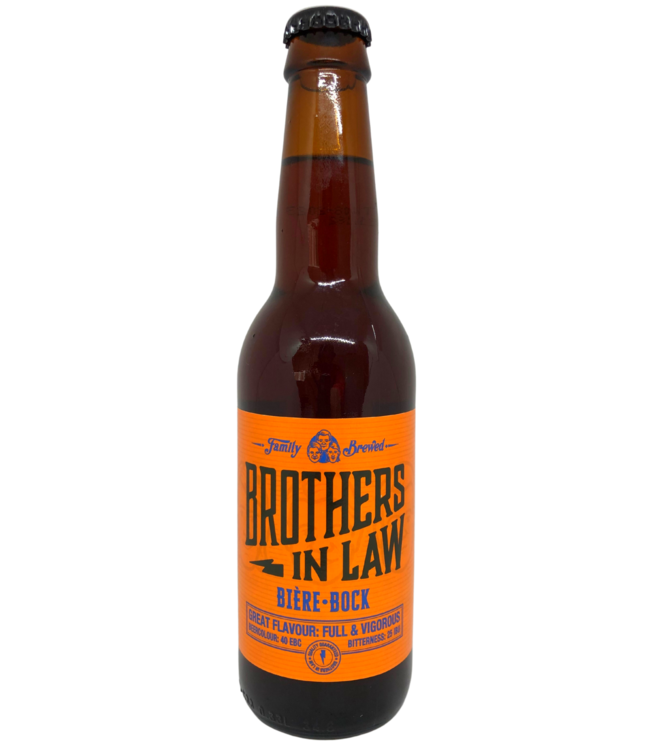 Brothers In Law Brothers In Law Bière Bock 330ml