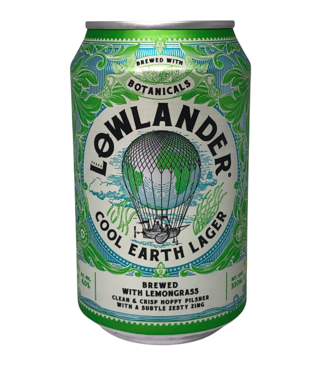 Lowlander Lowlander Cool Earth Lager Can 330ml
