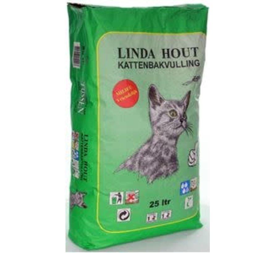 Linda hout 25 ltr