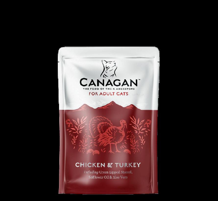 Canagan  Chicken & Turkey  85 gr