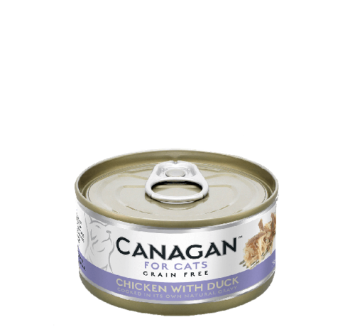 Canagan kat Canagan  Chicken with Duck  blik 75 gr