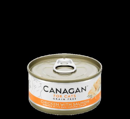 Canagan kat Canagan  Chicken with Salmon blik 75 gr