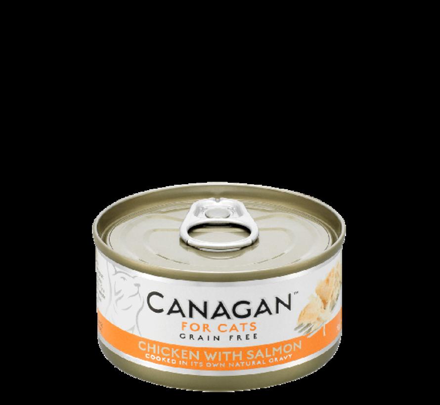 Canagan  Chicken with Salmon blik 75 gr