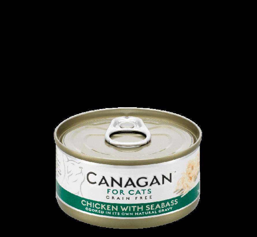 Canagan  Chicken with Seabass blik 75 gr