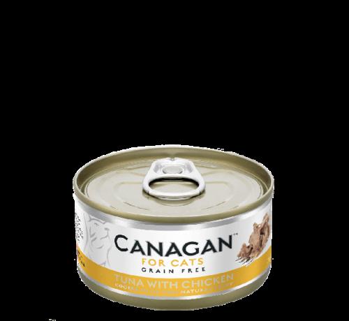 Canagan kat Canagan  Tuna with Chicken blik 75 gr