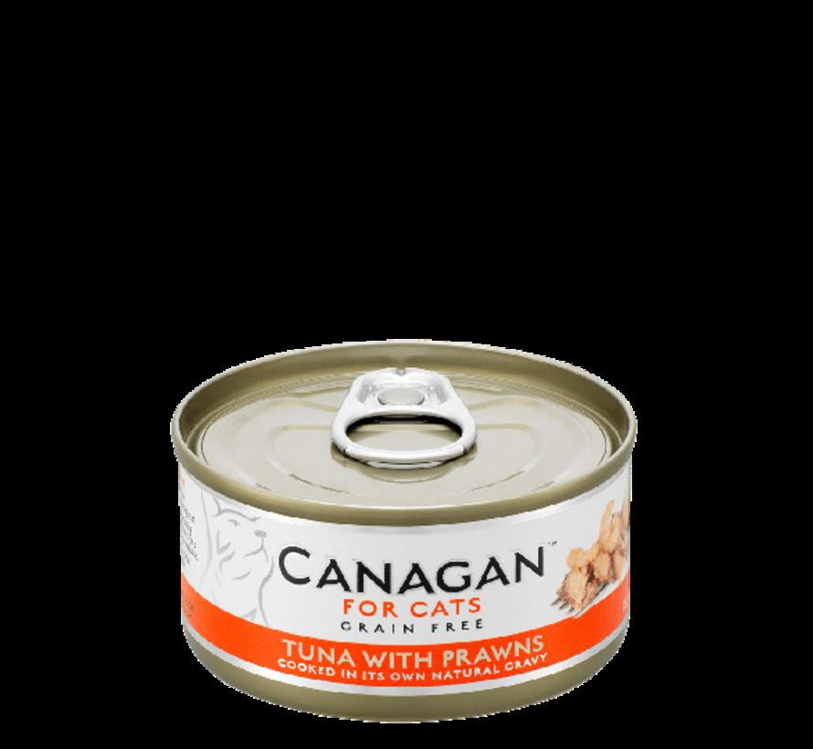 Canagan  Tuna with Prawns  blik 75 gr
