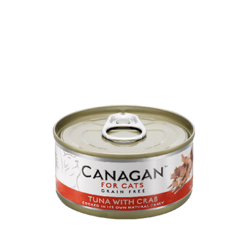 Canagan kat Canagan Tuna with Crab blik 75 gr