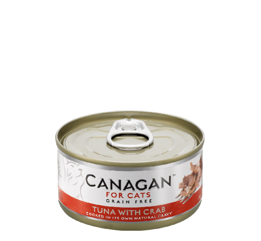Canagan Tuna with Crab blik 75 gr