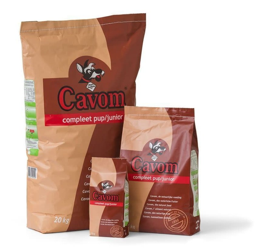 Cavom Compleet puppy/junior 5 kg