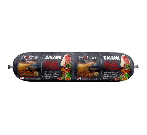 Profine Profine dog salami eend & groenten 800 gr