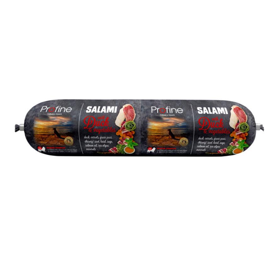 Profine dog salami eend & groenten 800 gr