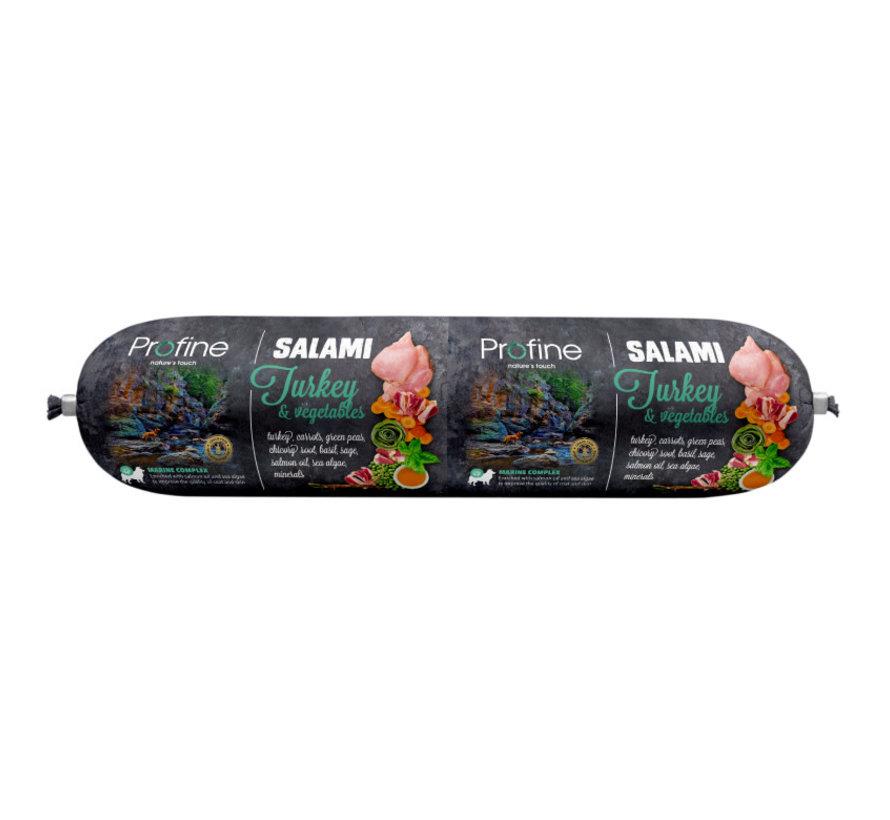 Profine dog salami kalkoen & groenten 800 gr