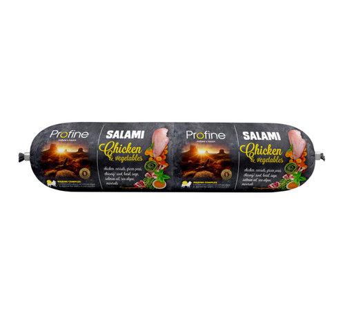 Profine Profine dog salami kip & groenten 800 gr