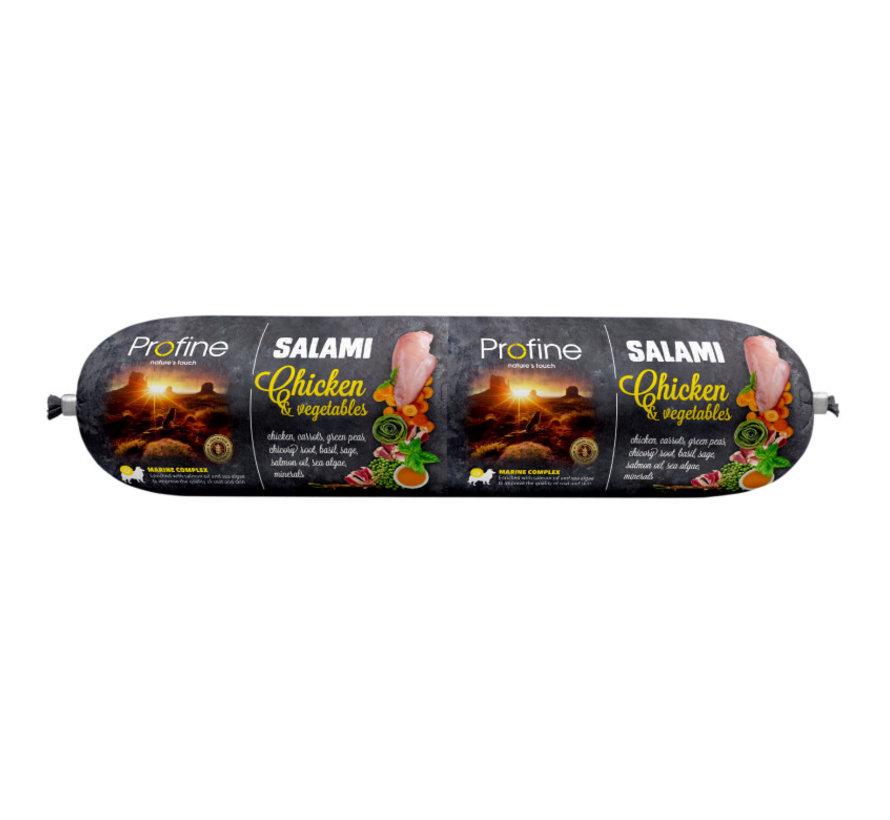 Profine dog salami kip & groenten 800 gr