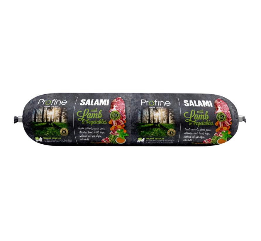 Profine dog salami lam & groenten 800 gr