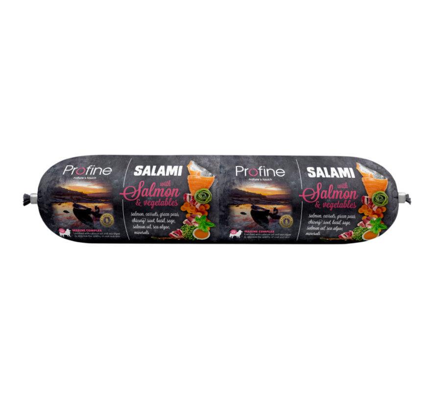 Profine dog salami zalm & groenten 800 gr