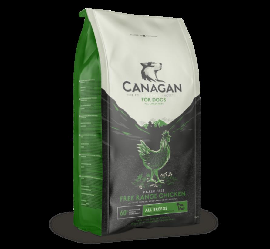 Canagan Free Range chicken  all breed 12 kg
