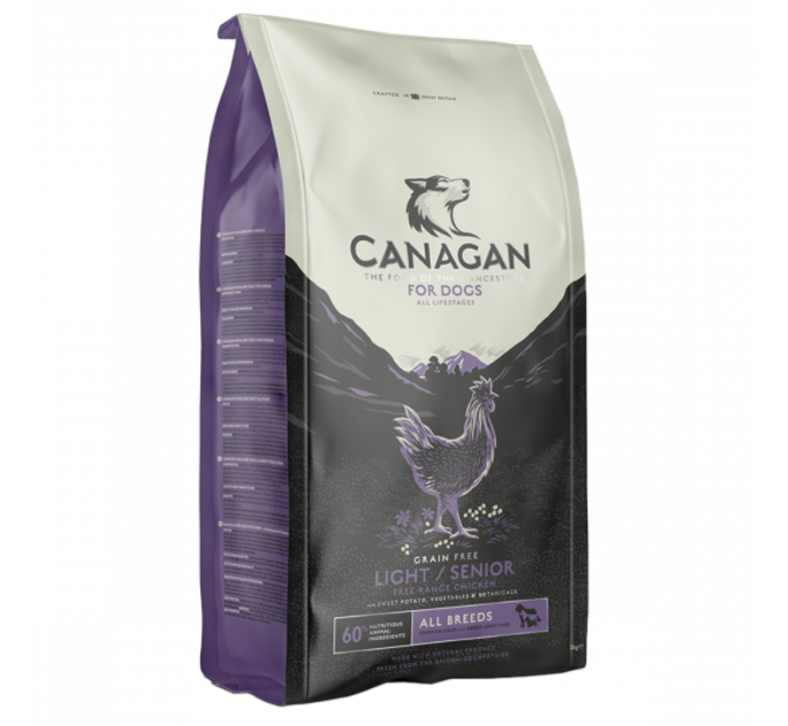 Canagan light senior 2 kg