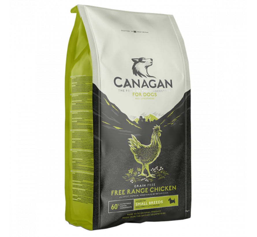 Canagan small breed free range chicken 2 kg