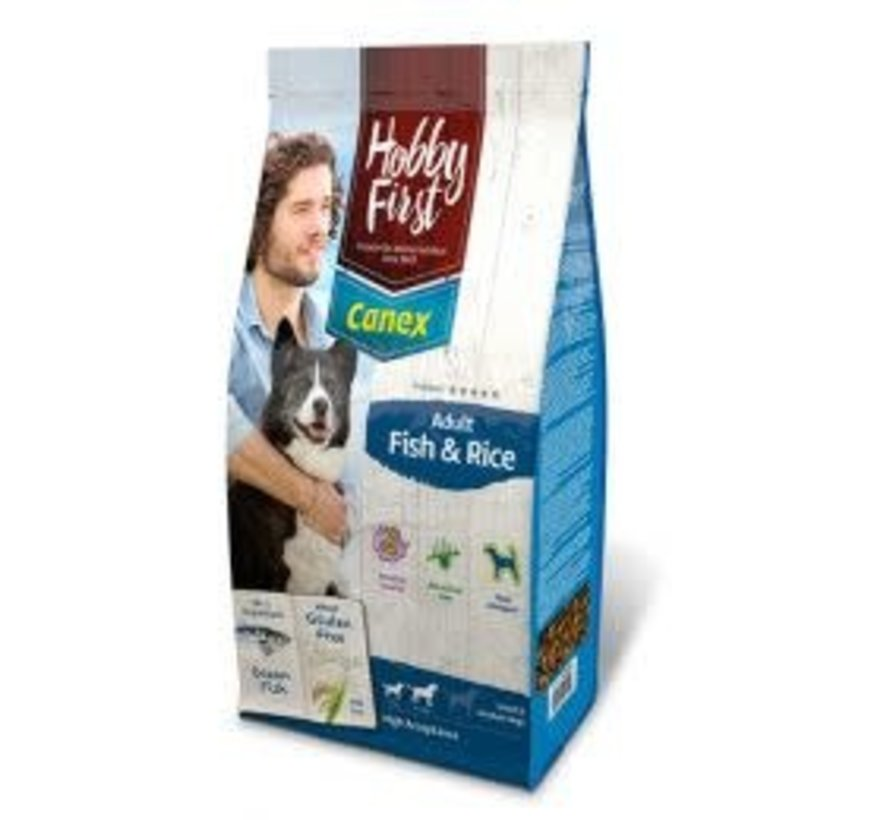 Hobby First Canex adult fish&rice 3 kg