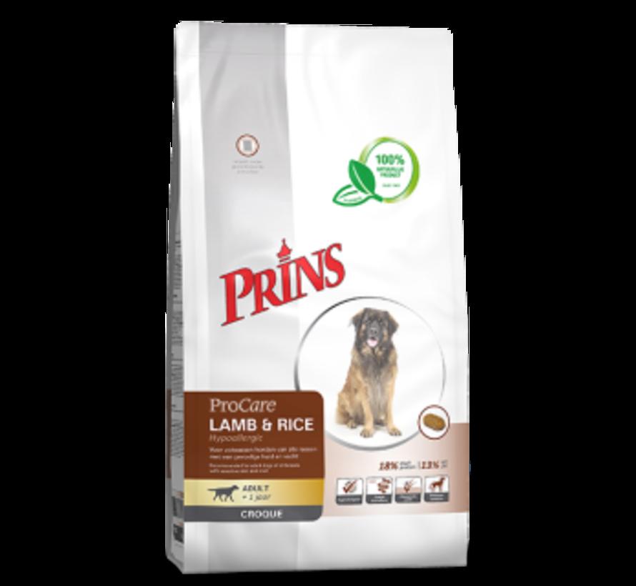 Prins ProCare croque lamb&rice hypoallergic 2 kg
